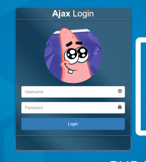 ajax login jquery form & jquery validation