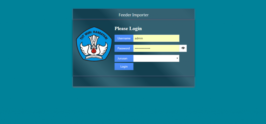 Feeder Importer Login